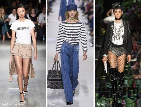 Slogan Prints tendenza moda abbigliamento primavera estate 2018 Slogan Prints tendenza moda abbigliamento primavera estate 2018 470x356 - 11 Stampe e Fantasie Moda Abbigliamento Donna primavera estate 2018