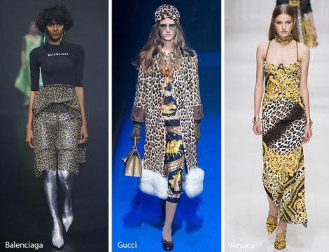 Stampe animalier tendenza moda primavera estate 2018