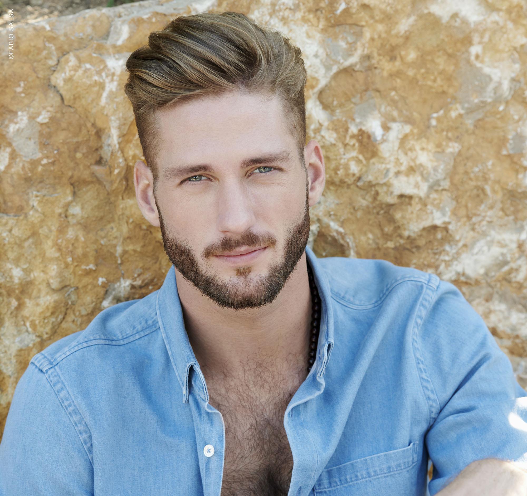 Tendenza Tagli capelli e barba uomo primavera estate 2018