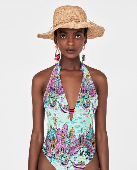 Zara costumi 2018 the house of blog - Costume da bagno in spagnolo ...
