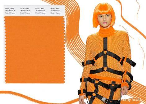 Colore Russet Orange Pantone Inverno 2019