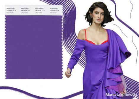 Colore Ultra Violet Pantone Inverno 2019