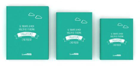 Diario scolastico ScuolaZoo 2019 Verde Tiffany