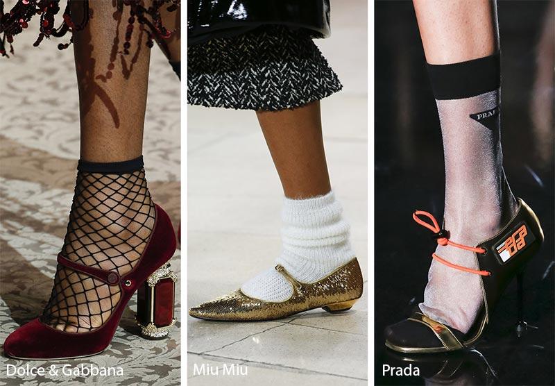 Scarpe con calzino moda inverno 2018 2019