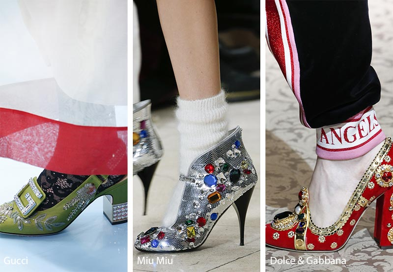 Scarpe gioiello moda inverno 2018 2019