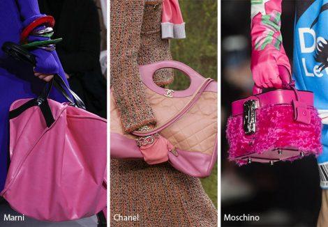 Borse rosa moda inverno 2018 2019