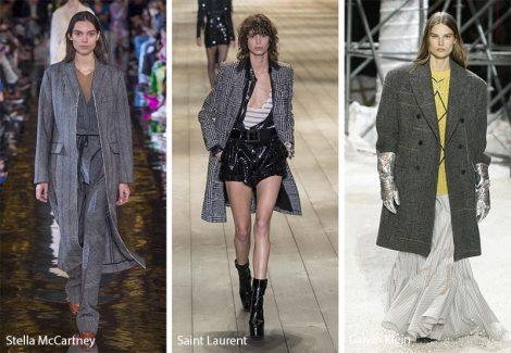 Cappotti oversize e dal taglio maschile moda inverno 2018 2019