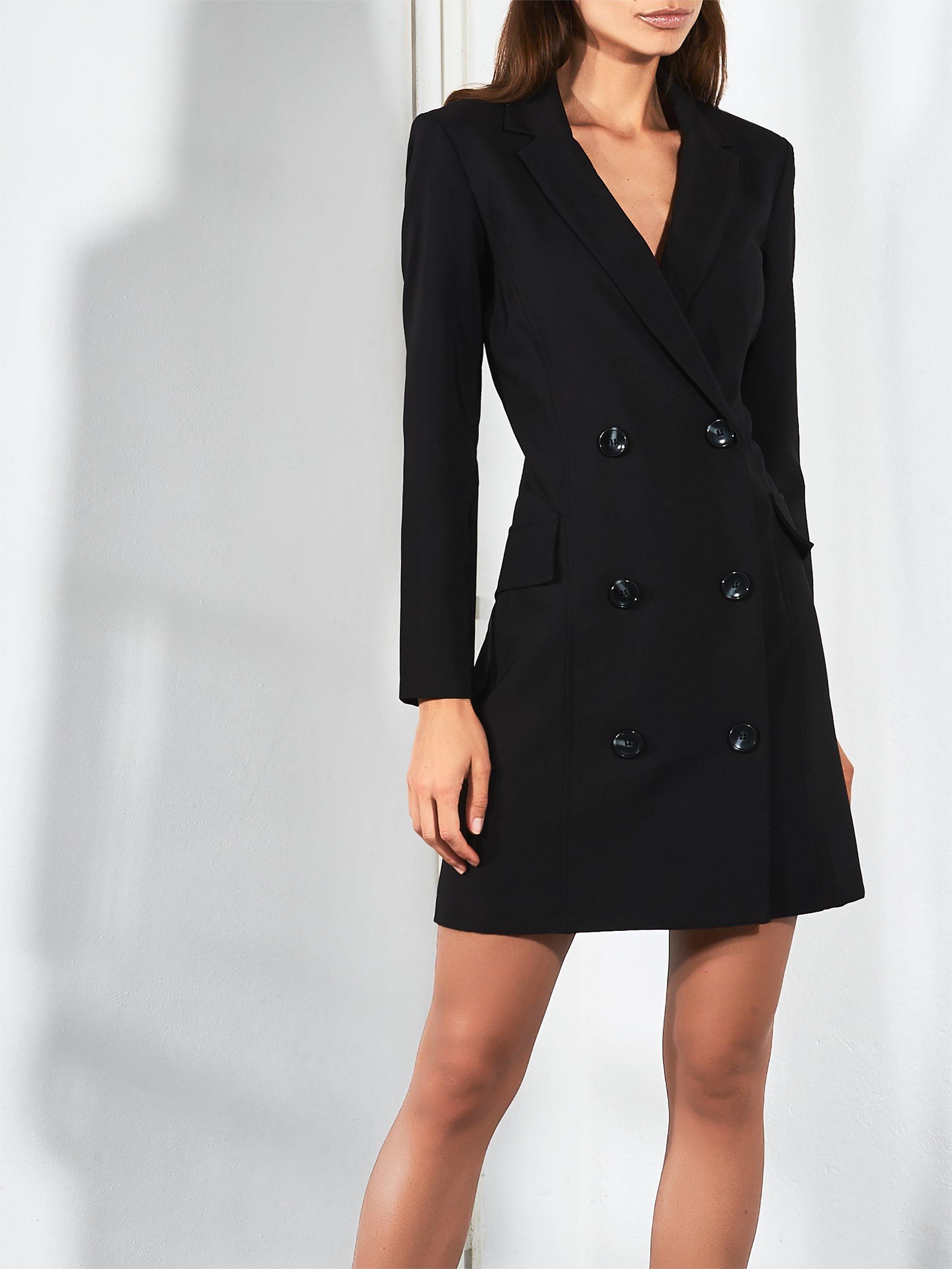 5e773fe91533 Elegante abito doppiopetto Rinascimento autunno inverno 2018 2019 prezzo  109 euro Elegante abito doppiopetto Rinascimento autunno
