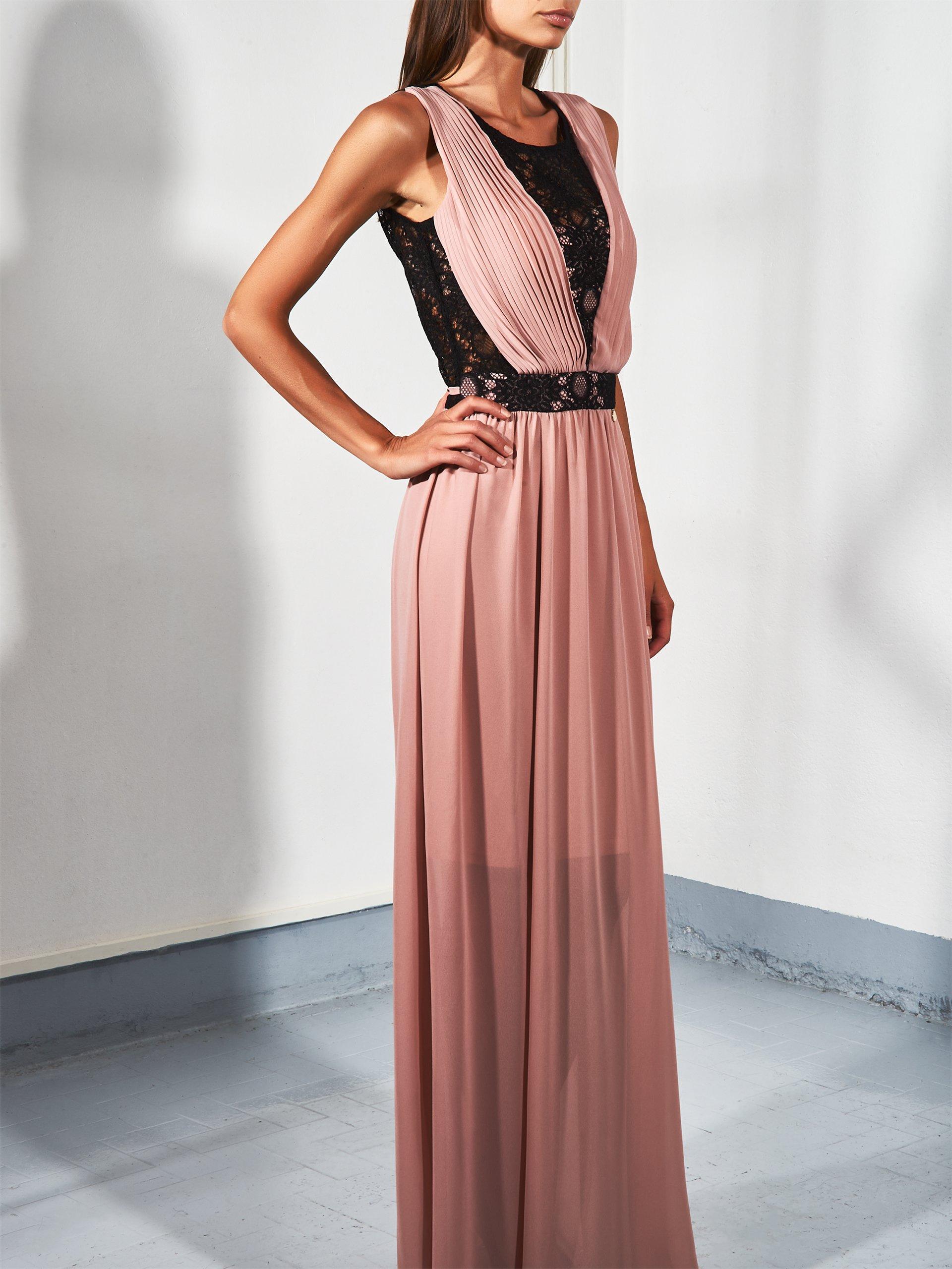 Elegante abito lungo da cerimonia Rinascimento inverno 2018 2019 prezzo 139 euro