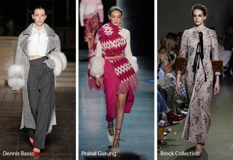 Giacche e Cappotti con polsini in pelliccia moda inverno 2018 2019