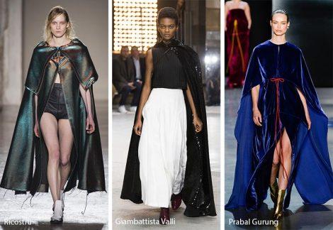Mantelli moda inverno 2018 2019