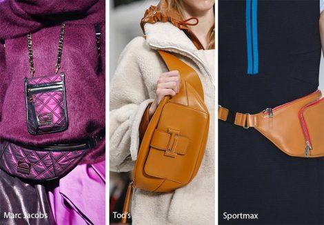 Marsupi moda donna inverno 2018 2019