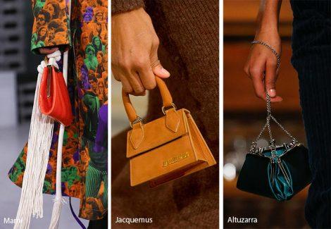 Mini bags moda inverno 2018 2019