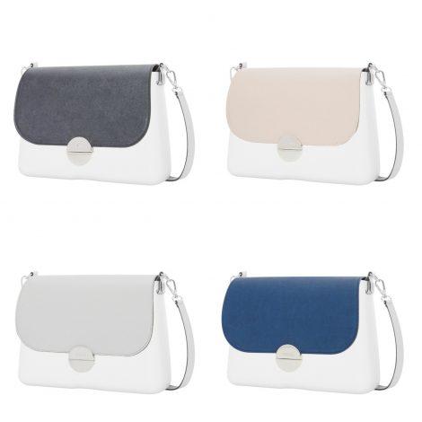 Nuova pattina O Bag Glam in ecopelle saffiano 470x470 - Borse O BAG Glam e Knit: Novità inverno 2018 2019