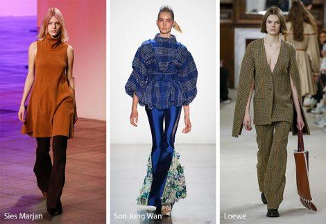 Pantaloni a zampa moda inverno 2018 2019