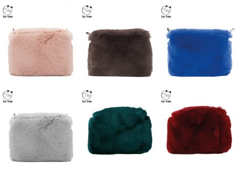 Sacche interne o bag glam in ecopelliccia lapin 470x336 - Borse O BAG Glam e Knit: Novità inverno 2018 2019