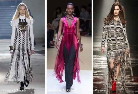 Tendenze Moda abbigliamento donna inverno 2018 2019 Le Frange