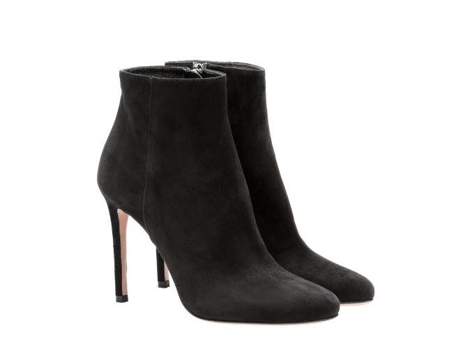 Ankle boots Prada inverno 2018 2019 prezzo 760 euro