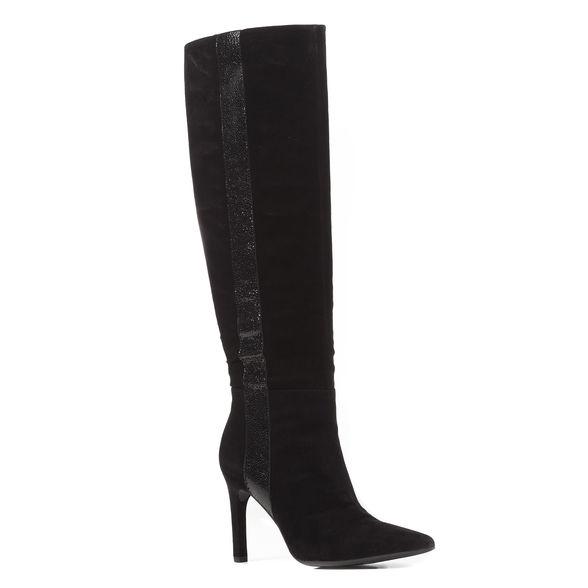 Eleganti stivali con tacco Geox donna mod Faviola inverno 2019 prezzo 189 euro