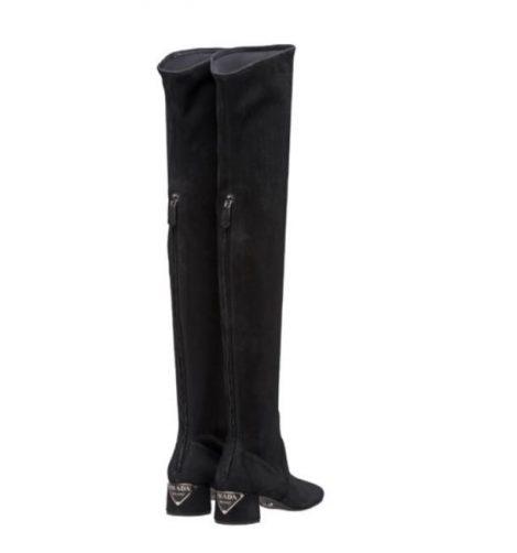 Stivali cuissardes alti sopra il ginocchio Prada inverno 2018 2019 prezzo 1150 euro 470x502 - Prada Stivali e Stivaletti inverno 2018 2019