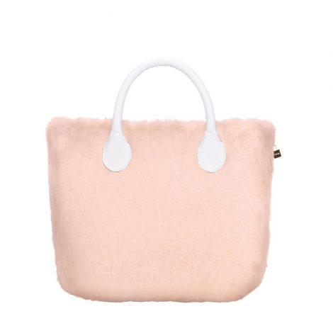 Borsa O Bag con cover in ecopelliccia rosa phard inverno 2018 2019 470x470 - Borse O Bag Inverno 2018 2019 con la cover in ecopelliccia