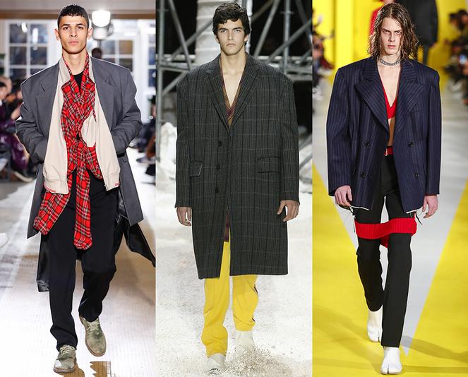 Cappotti oversize moda uomo inverno 2019