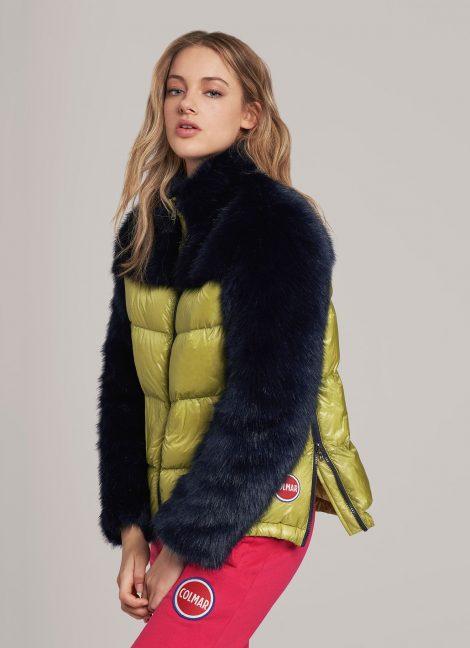 Colmar Giubbotto con piumino e pelliccia inverno 2019 prezzo 679 euro 470x648 - COLMAR Piumini Donna Collezione Inverno 2019