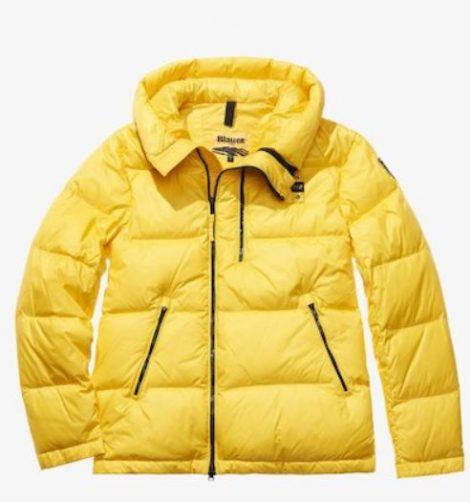 Giubbotto Blauer con zip asimmetrica modello Giacomo prezzo 383 euro 470x502 - BLAUER Piumini uomo inverno 2019
