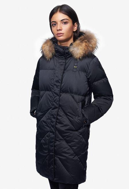 Giubbotto lungo Blauer modello Veronica inverno 2018 2019 prezzo 641 euro
