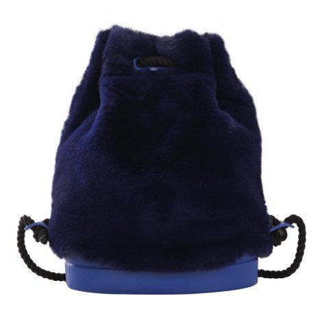 Nuovo zainetto peloso O Bag Soft in ecolapin blu inverno 2018 2019 470x470 - Nuovo Zainetto O Bag Soft Inverno 2018 2019