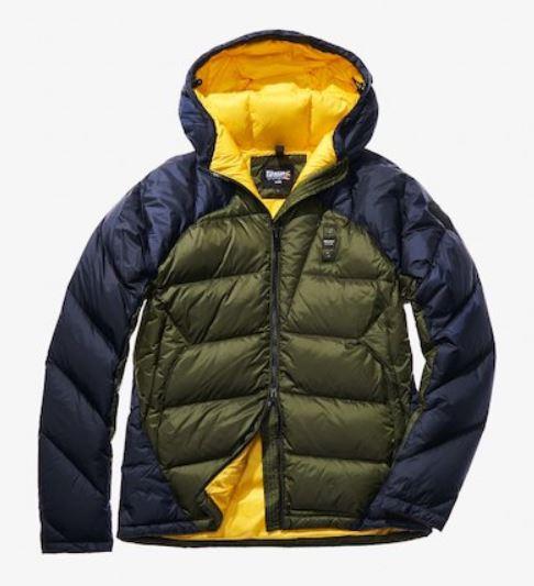 Piumino Blauer bicolore inverno 2019 prezzo 395 euro modello Diego