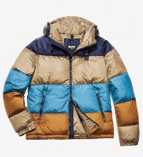Piumino Blauer uomo inverno 2019 modello Gioele prezzo 395 euro