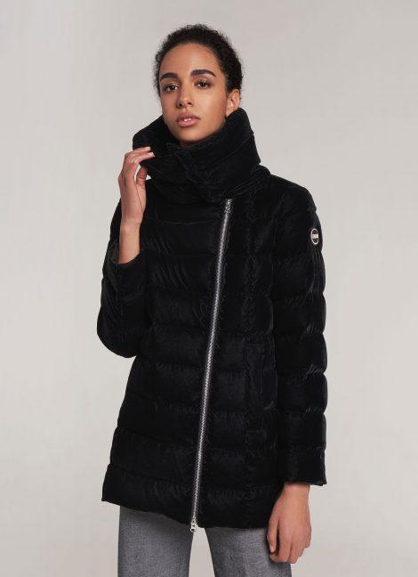 Piumino in velluto donna Colmar inverno 2019 prezzo 539 euro 470x648 - COLMAR Piumini Donna Collezione Inverno 2019