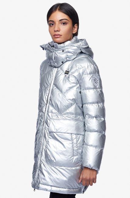 Piumino lungo Blauer modello Frozen inverno 2018 2019 prezzo 579 euro