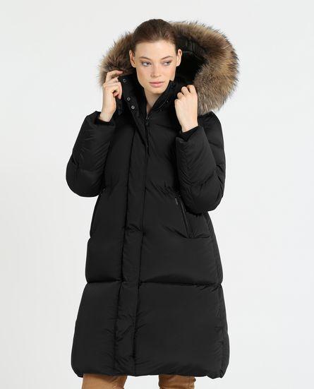 Piumino lungo Woolrich donna Ester Oversize inverno 2019 prezzo 1100 euro - Woolrich Parka Donne Inverno 2019