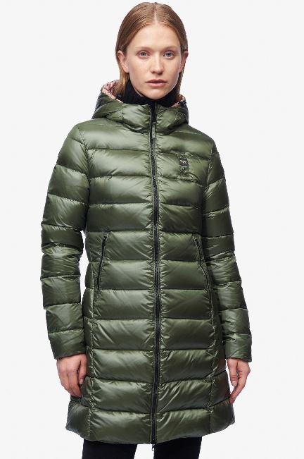 Piumino lungo donna Blauer inverno 2019 prezzo 366 euro modello Vittoria