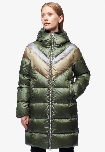 Piumino lungo donna Blauer inverno 2019 prezzo 456 euro modello Ginevra