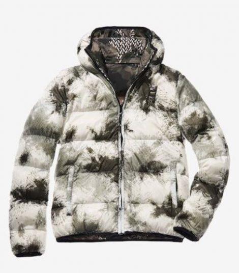 Piumino reversibile Blauer fantasia camouflage modello Marco prezzo 427 inverno 2019 470x536 - BLAUER Piumini uomo inverno 2019