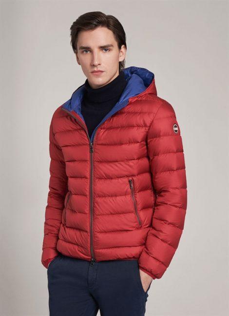 Piumino uomo Colmar con cappuccio inverno 2018 2019 prezzo 479 euro 470x648 - Colmar Piumini Uomo Inverno 2019: Catalogo foto e prezzi