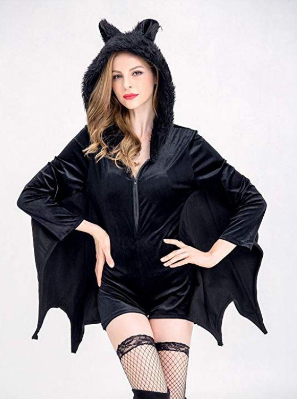 Sexy Costume Halloween donna da pipistrello