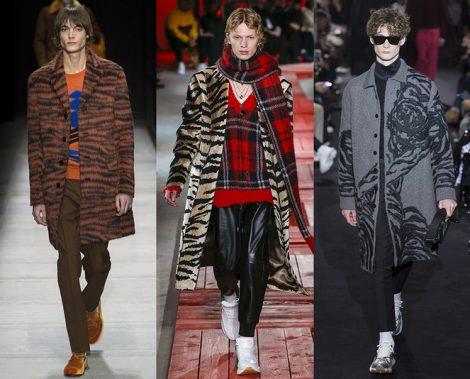 Stampe animalier moda uomo inverno 2018 2019 470x379 - 15 Tendenze Moda Uomo Abbigliamento Inverno 2018 2019