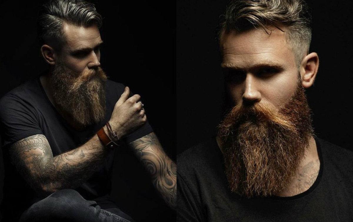Taglio capelli e barba lunga uomo 2019