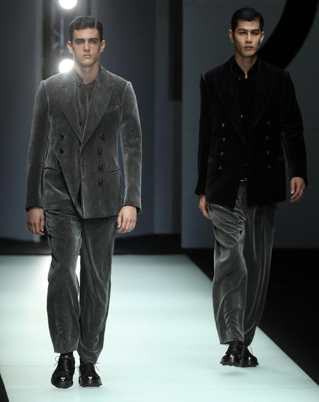 Tendenze Moda abbigliamento Uomo inverno 2018 2019 il velluto