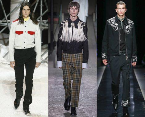 Tendenze Moda abbigliamento Uomo inverno 2018 2019 stile wester 470x379 - 15 Tendenze Moda Uomo Abbigliamento Inverno 2018 2019