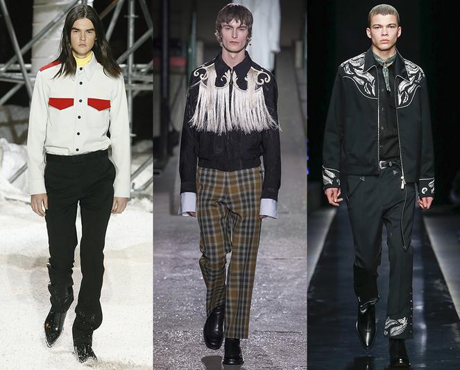 Tendenze Moda abbigliamento Uomo inverno 2018 2019 stile wester