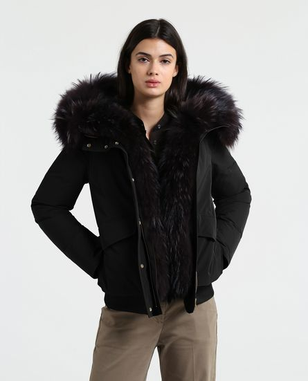 Woolrich donna Bomber military inverno 2019 prezzo 990 euro - Woolrich Parka Donne Inverno 2019