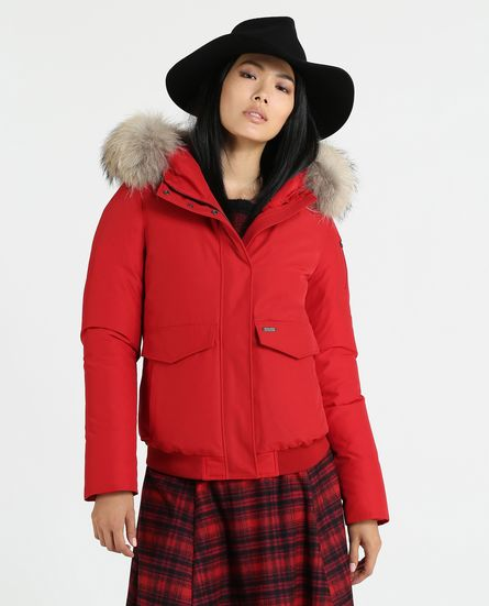 Woolrich donna Minerva Bomber inverno 2019 prezzo 650 euro - Woolrich Parka Donne Inverno 2019