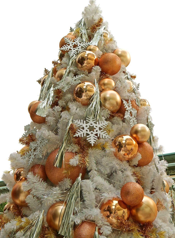 Albero di Natale 2018 nei toni del bronzo