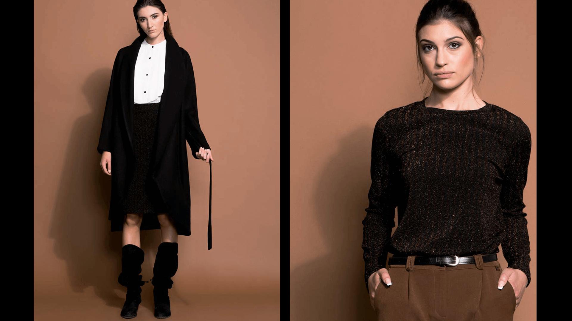 Abbigliamento Coconuda inverno 2018 2019 Cappotto e abbigliamento lurex Coconuda inverno 2018 2019 - Cappotto e abbigliamento lurex Coconuda inverno 2018 2019