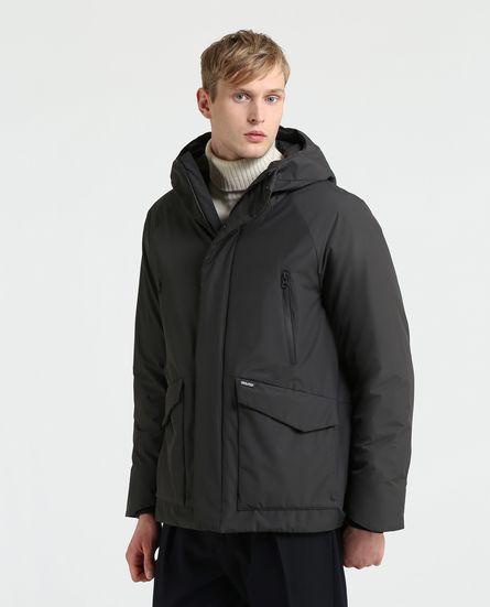 Giubbotto uomo Woolrich Comfort Hooded inverno 2019 prezzo 530 euro